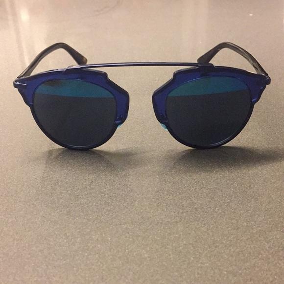df1270b97e0a Dior Accessories | Original So Real Blue Sunglasses | Poshmark